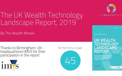 The UK Wealth Technology Report by the Wealth Mosaic features IMVS on page 45